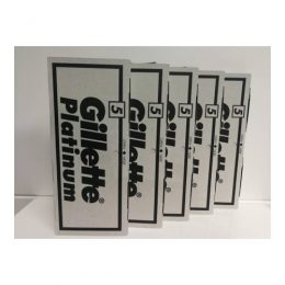 cuchillas gillette en pack de 5 paquetes premium