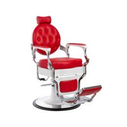 sillon barbero mae blanco rojo economico, sillon barbero vintage