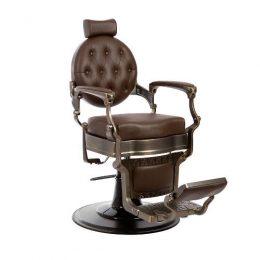 sillon para barberos mae bronze, sillon mae barbero vintage